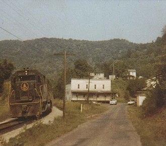 Orlando, West Virginia - Image: Orlando Train Sm