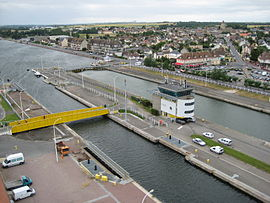 Ouistreham locks
