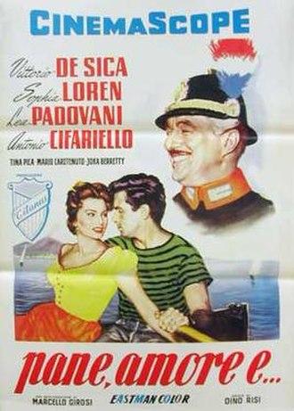 Scandal in Sorrento - Italian poster