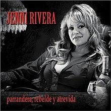 album de jenni rivera parrandera rebelde y atrevida