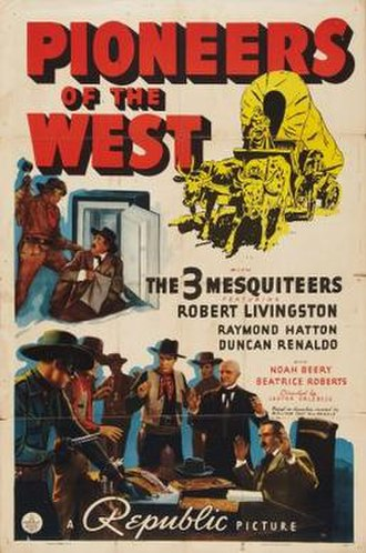 Pioneers of the West - Image: Pioneers of the West Film Poster