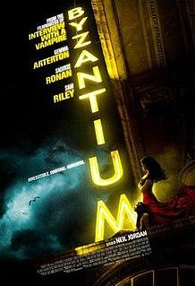 <i>Byzantium</i> (film) 2012 British-Irish fantasy thriller film directed by Neil Jordan