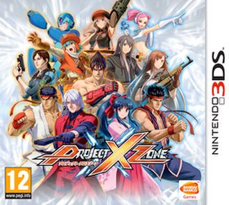 Project X Zone - European cover art