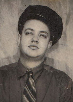 Ray Butts - Ray Butts in his early 20s