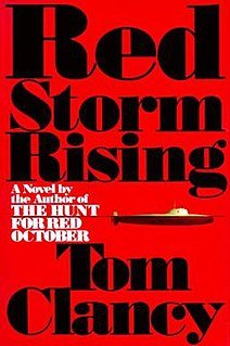<i>Red Storm Rising</i> Novel by Tom Clancy