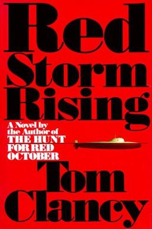 Red Storm Rising - Cover of 1986 first edition