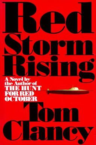 Red Storm Rising - First edition cover