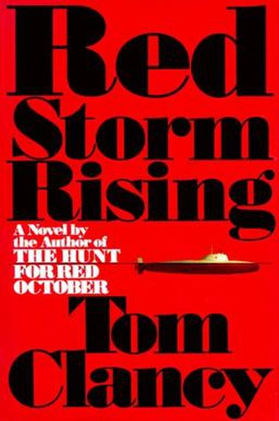 Picture of a book: Red Storm Rising