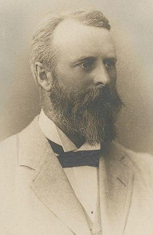 Richard Sanders Rogers - Rogers in 1890
