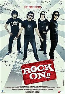 Rock On (2008) SL DM - Farhan Akhtar, Prachi Desai, Arjun Rampal, Purab Kohli, Luke Kenny, Shahana Goswami, Koel Purie, Nicolette Bird, Sai Gundewar
