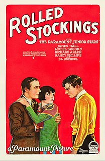 <i>Rolled Stockings</i> 1927 film by Richard Rosson