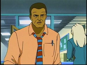 Robbie Robertson (comics) - Robbie Robertson as he appears on Spider-Man: The Animated Series.
