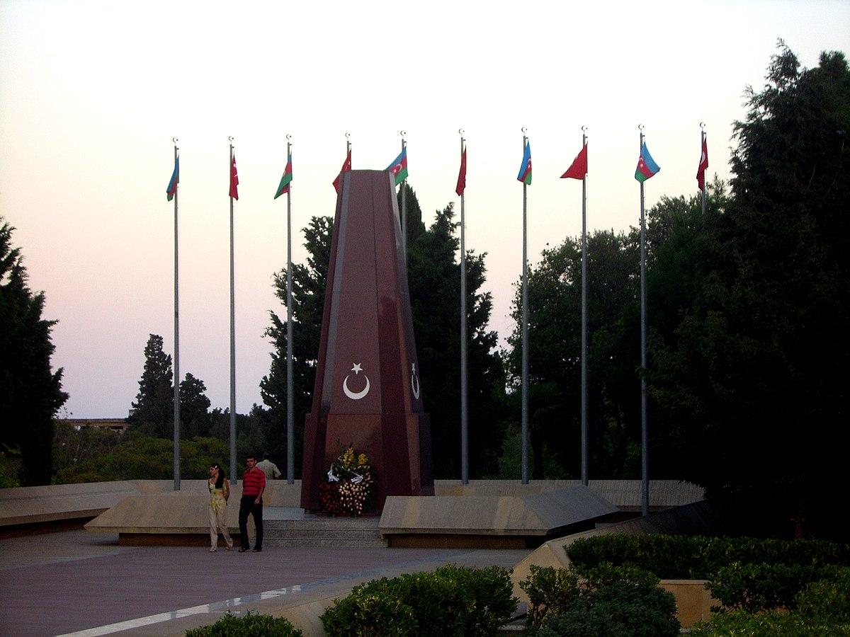 Baku Turkish Martyrs Memorial Wikipedia