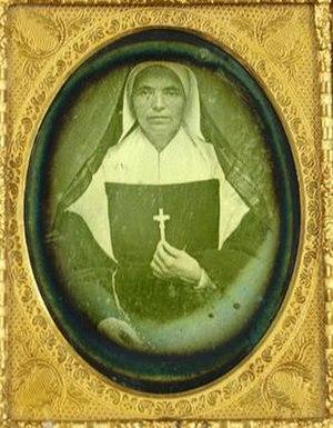 Théodore Guérin - Image: Saint Theodora Guerin