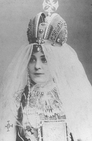 Sibyl Sanderson - Sibyl Sanderson as Massenet's Esclarmonde