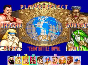 Saturday Night Slam Masters - Image: Saturday Night Slam Masters (character selection)