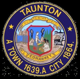 Official seal of Taunton, Massachusetts