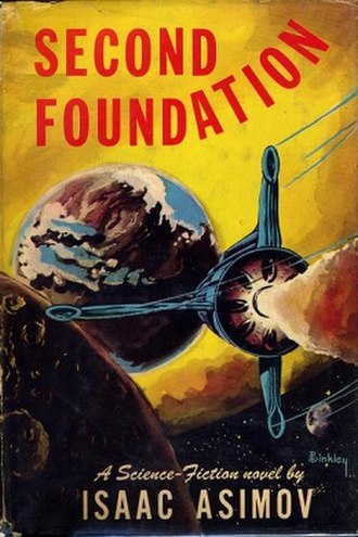 Second Foundation - Dust-jacket from the first edition