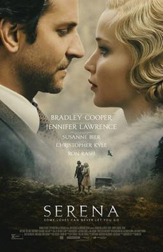 Serena (2014 film) - Theatrical release poster