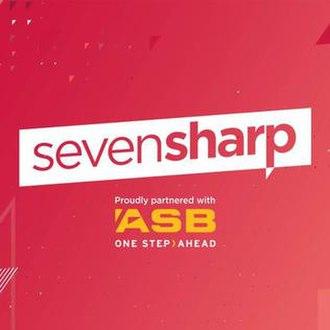 Seven Sharp - Image: Seven Sharp 2018 logo