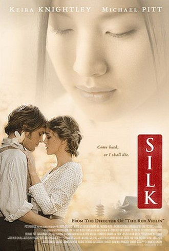 Silk (2007 film) - A French poster for the film