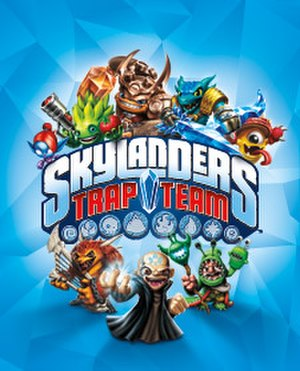 Skylanders: Trap Team - Image: Skylanders Trap Team cover art