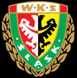 Śląsk Wrocław's crest