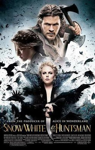 Snow White and the Huntsman - Theatrical release poster