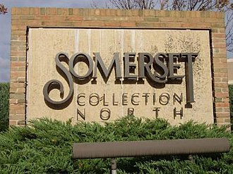 Somerset Collection - Image: Somersetsign
