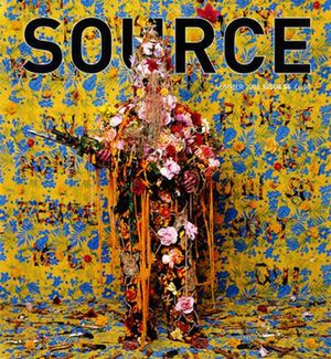Source (photography magazine) - The cover of Source issue 55, Summer 2008, featuring the work of artist Hew Locke