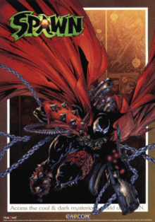 Spawn arcade game flyer