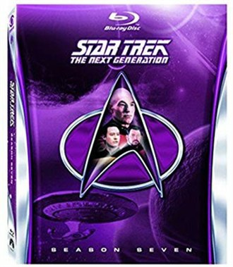 Star Trek: The Next Generation (season 7) - Region A/1 Blu-ray cover art