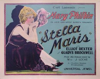<i>Stella Maris</i> (1925 film) 1925 film