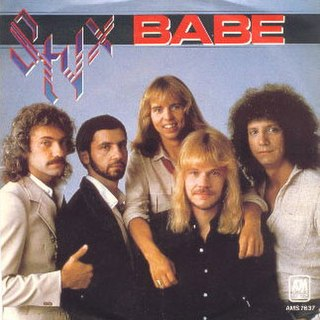 Babe (Styx song) Styx song