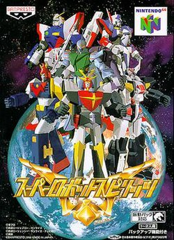 Super Robot Spirits box art.