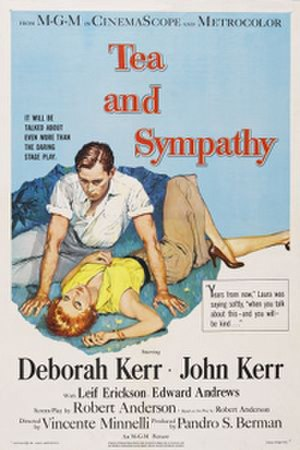 Tea and Sympathy (film) - Theatrical release poster