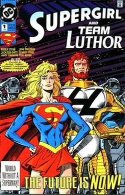 Cover art to Supergirl/Lex Luthor Special #1, by Kerry Gammill.