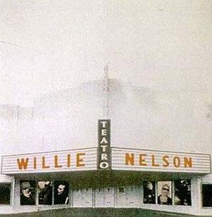 Teatro (Willie Nelson album) - Image: Teatro album cover