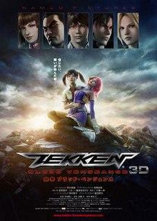 <i>Tekken: Blood Vengeance</i> 2011 Japanese Anime film directed by Yoichi Mori