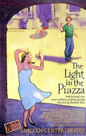 The Light in the Piazza (musical) - Poster for the original Broadway production