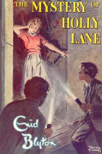 The Mystery of Holly Lane - First edition cover