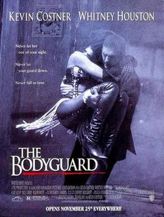 The Bodyguard (1992 film) - Theatrical release poster