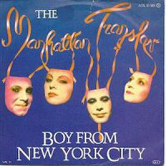 The Boy from New York City - Image: The Boy from New York City The Manhattan Transfer