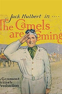 <i>The Camels are Coming</i> (film) 1934 British comedy adventure film directed by Tim Whelan