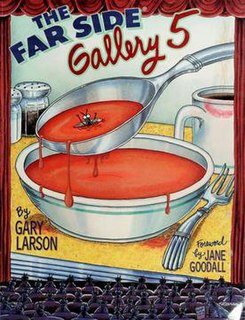 <i>The Far Side Gallery 5</i> book by Gary Larson