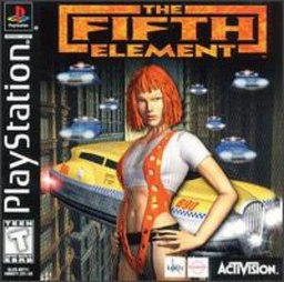 The Fifth Element, video game cover for Playstation.jpg