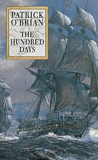 Cover by Geoff Hunt for The Hundred Days.