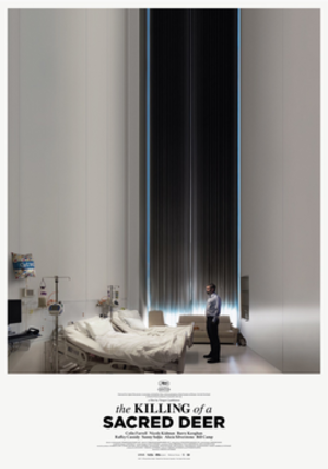 The Killing of a Sacred Deer - Theatrical release poster