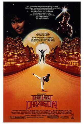 The Last Dragon - Theatrical release poster