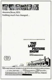 <i>The Last Picture Show</i> 1971 film by Peter Bogdanovich